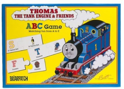 Briar Patch Thomas And Friends Abc Board Game