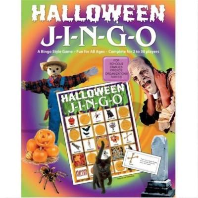 GARY GRIMM & ASSOCIATES Halloween Jingo Board Game