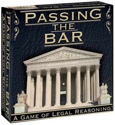 Passing The Bar Pas346 Board Game