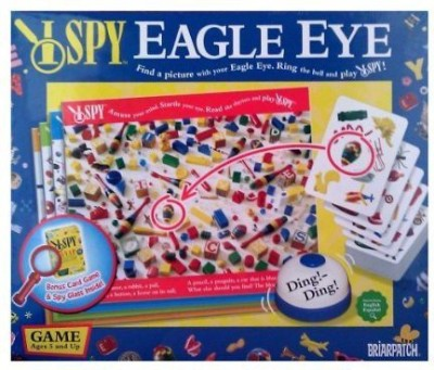 Scholastic I Spy Eagle Eye With Bonus I Spy Snap Card Board Game