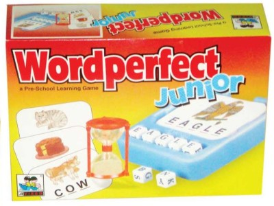 Virgo Toys Word Perfect Jr Board Game