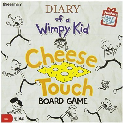 Diary of a Wimpy Kid The Cheese Touch Board Game