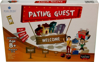 Folks Work Paying Guest Board Game