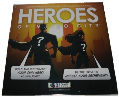 3Some Games Heroes Of Metro City Board Game