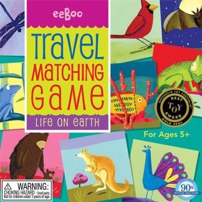 eeBoo Life On Earth Matching Travel Matching Board Game