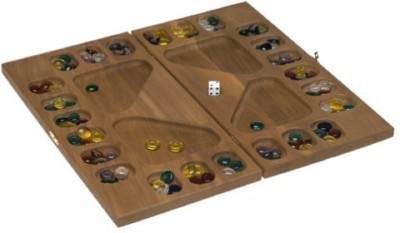Square Root S 0021 Fourplayer Mancala In Natural Finish Solid Hardwood Board Game