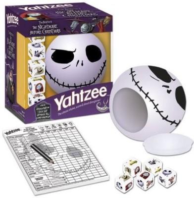 USAopoly Yahtzee The Nightmare Before Christmas Jack Board Game