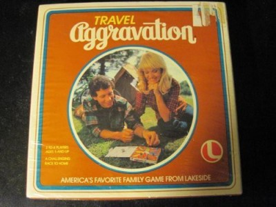 Lakeside Games Travel Aggravation Board Game