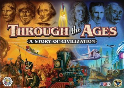 Eagle Games Through The Ages Board Game
