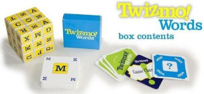 Twizmo Words Family Strategy Word With Twist Cube Board Game