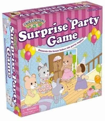 Calico Critters Surprise Party Board Game
