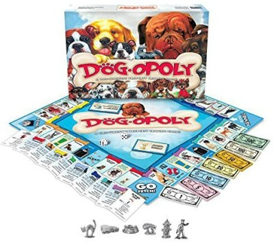 Late for the Sky Dogopoly Board Game