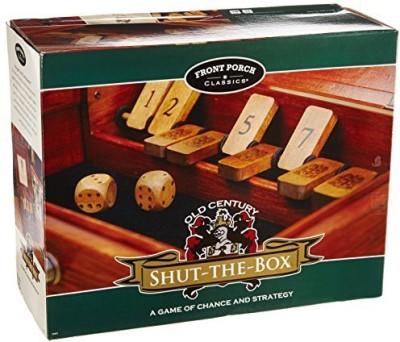 Front Porch Classics Shutthebox Signature Edition Board Game