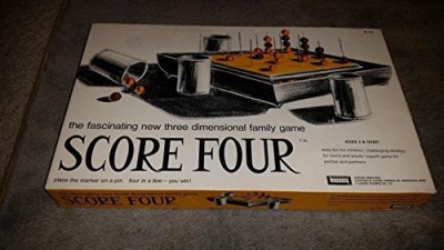 Score Four (1968 Funtastic) Board Game