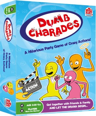 MadRat Games Dumb Charades Board Game