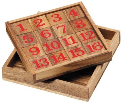 Monkey Pod Games Fifteen Puzzle Board Game