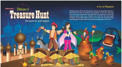 Playmate Treasure Hunt Board Game