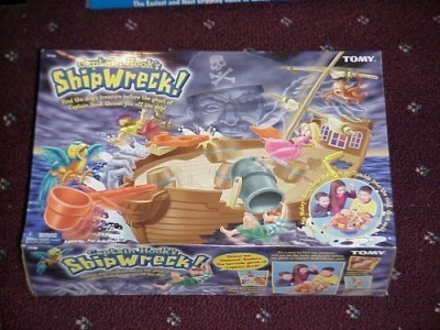 Tomy Captain Hook,S Shipwreck Board Game