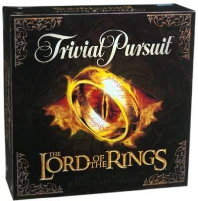 Milton Bradley Trivial Pursuit The Lord Of The Rings Movie Trilogy Board Game