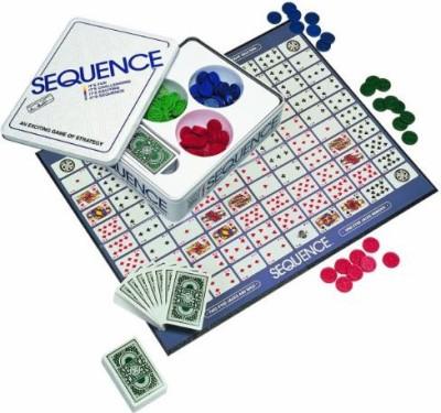 Jax Sequence Tin Board Game