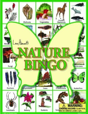 Lucy Hammett Games Nature Bingo Board Game