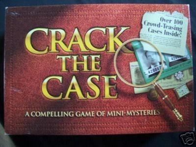 Milton Bradley Crack The Case ~ A Compendium Of Minimysteries Board Game