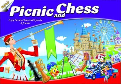 Ratnas Picnic And Chess Board Game