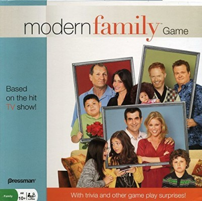 Pressman Toy Modern Family Board Game