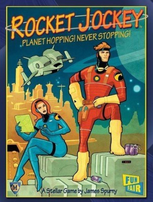 Mayfair Games Rocket Jockey Board Game