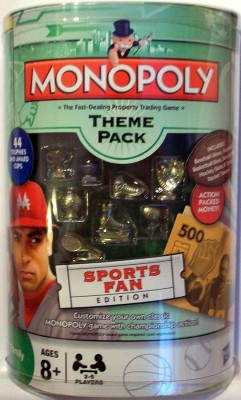 Monopoly Theme Pack Sports Fan Edition Board Game