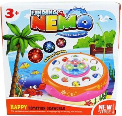 VENUS-PLANET OF TOYS FISHING GAME W/MUSIC & FLASHING LIGHTS Board Game