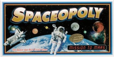 Monopoly spaceopoly Board Game