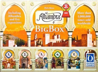 Rio Grande Games Alhambra Big Box Board Game