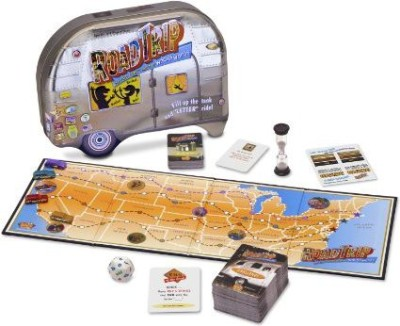 Daddy O Productions Road Trip Board Game