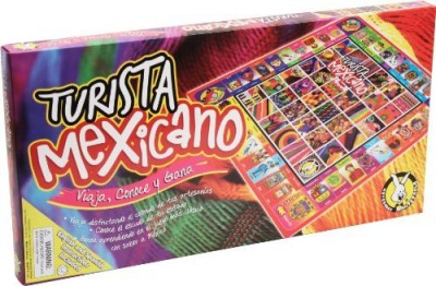 Novedades Montecarlo Turista Mexicano Board Game
