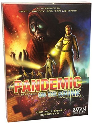 Z-Man Games Pandemic On The Brink Expansion (2Nd Edition) Board Game