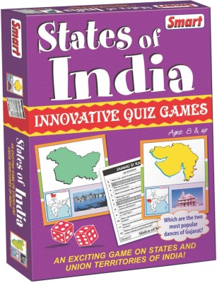 Smart States of India Board Game