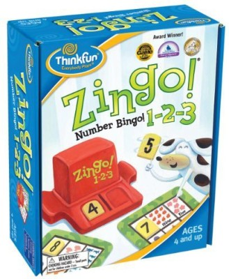 Think Fun Thinkfun Zingo 123 Board Game