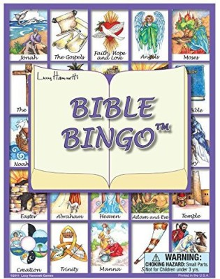 Lucy Hammett Games Bible Bingo Board Game