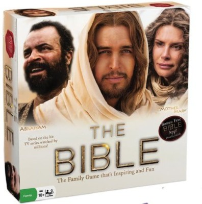 Pressman Toy The Bible Tv Miniseries Board Game