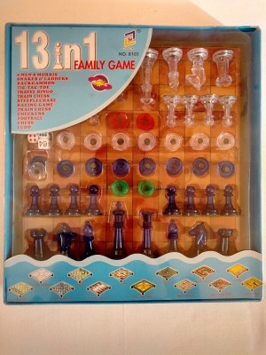Candy Store Family Board Game 13 in 1 Board Game