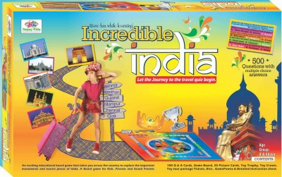 Happy Kidz Incredible India Board Game