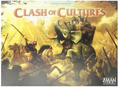 Z-Man Games Clash Of Cultures Board Game