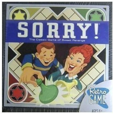 Parker Brothers Sorry Retro Edition The Classic Of Sweet Revenge Board Game