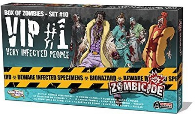 Edge Zombicide Vip 1 Very Infected People Board Game