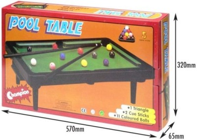 Sunta Pool Table (Large) Board Game