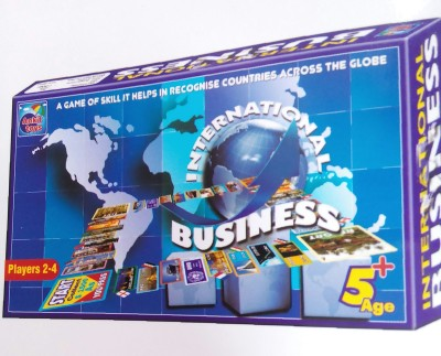 Bharat International Bussiness Board Game