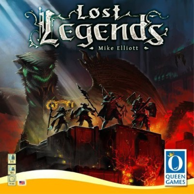 Queen Games Lost Legends Board Game
