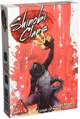 Post Human Studios Shinobi Clans Board Game