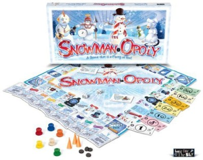 Late for the Sky Snowman-opoly Board Game